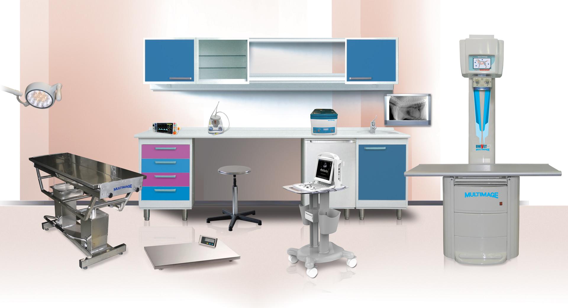 apparecchiature radiologiche ed elettromedicali per veterinaria